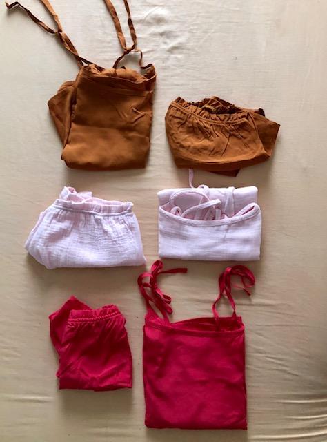 mujer  comodo homewear pijama short sostenible summer sustainable underwear
