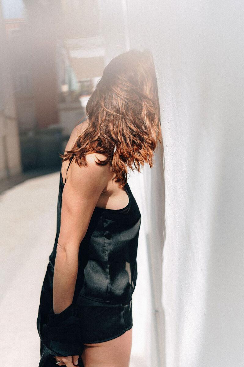 mujer  comodo elegancia homewear moda pijama saten short summer top underwear