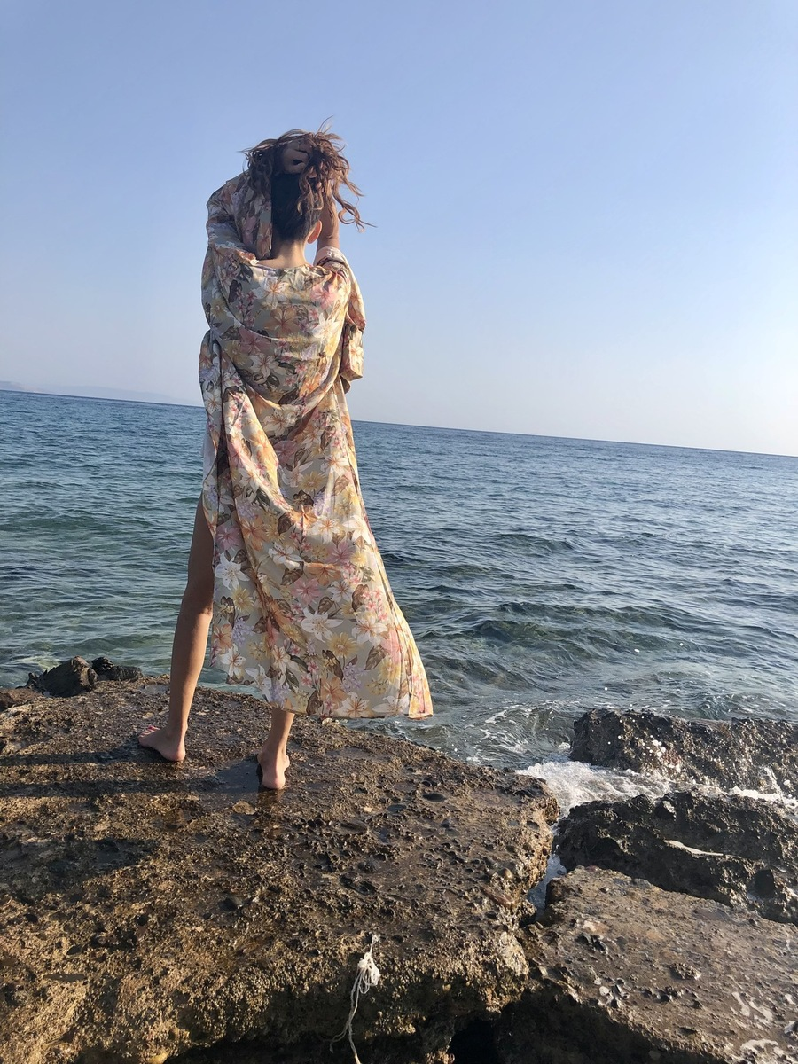 mujer  comodo kimonos