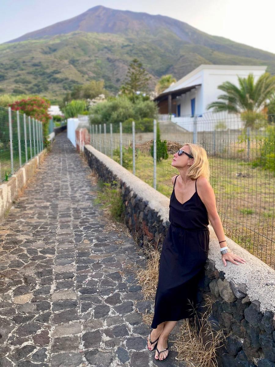 Stromboli Viscosa Negro - mujer  dresses moda sostenible sustainable vestidos