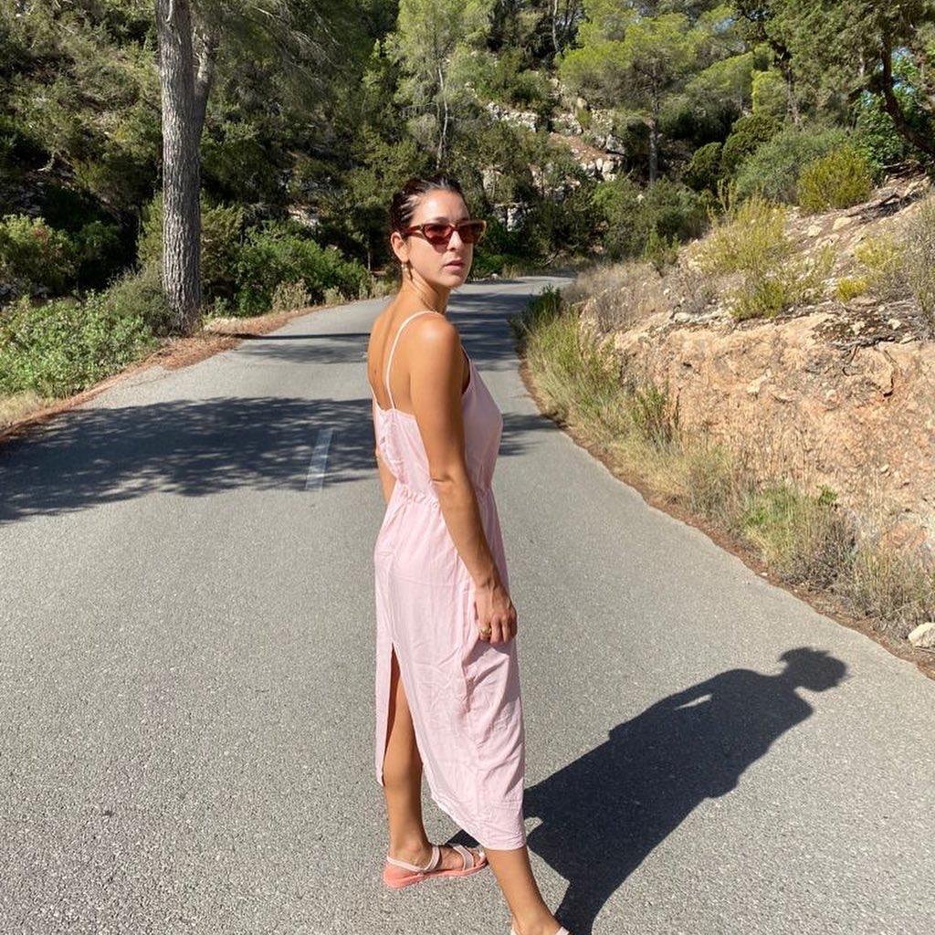 mujer  sostenible vestidos
