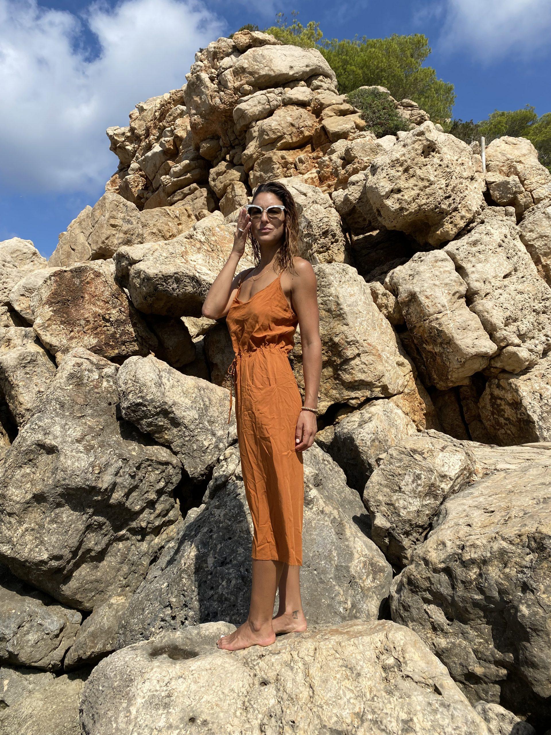 Stromboli Viscosa Tierra - mujer  comodo dresses vestidos